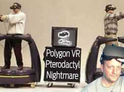 CHRIST ON A BIKE – PTERODACTYL! | Polygon VR (Oculus Rift VR Gameplay)