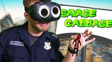 GIANT COP STOPPING GRAFFITI ARTISTS! | Giant Cop VR