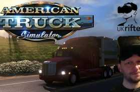 KEEP ON TRUCKIN' | AMERICAN TRUCK SIMULATOR (Oculus Rift VR Gameplay)