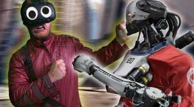 MAN VS ROBOTS! | Robo Recall (HTC Vive Virtual Reality)