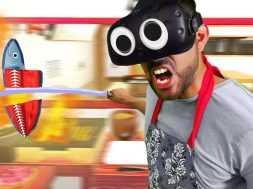 ULTIMATE SAMURAI CHEF! | Counter Fight VR